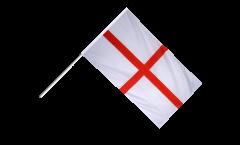 Drapeau Angleterre St. George sur hampe - 60 x 90 cm