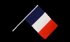 Drapeau France sur hampe - 60 x 90 cm