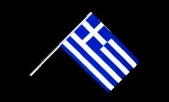 Drapeau Grèce sur hampe - 60 x 90 cm