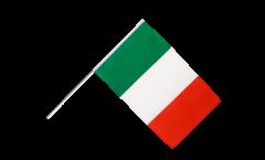 Drapeau Italie sur hampe - 60 x 90 cm