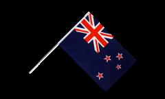 Drapeau Nouvelle Zélande sur hampe - 60 x 90 cm