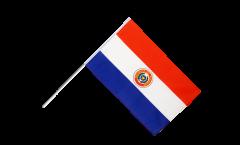 Drapeau Paraguay sur hampe - 60 x 90 cm