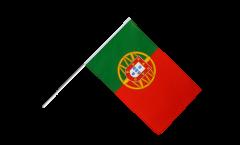 Drapeau Portugal sur hampe - 60 x 90 cm