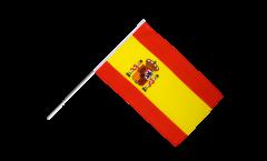 Drapeau Espagne sur hampe - 60 x 90 cm