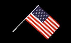 Drapeau USA sur hampe - 60 x 90 cm