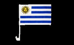 Drapeau de voiture Uruguay - 30 x 40 cm