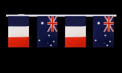 Guirlande d'amitié France - Australie - 15 x 22 cm