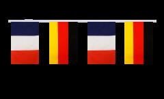 Guirlande d'amitié France - Allemagne - 15 x 22 cm