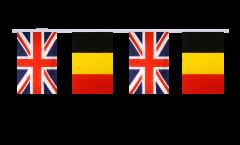 Guirlande d'amitié Royaume-Uni - Belgique - 15 x 22 cm