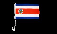 Drapeau de voiture Costa Rica - 30 x 40 cm