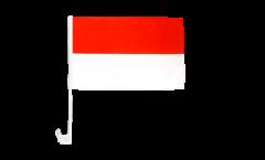 Drapeau de voiture Indonésie - 30 x 40 cm