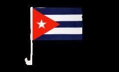 Drapeau de voiture Cuba - 30 x 40 cm