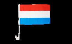 Drapeau de voiture Luxembourg - 30 x 40 cm