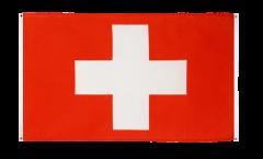 Drapeau de balcon Suisse - 90 x 150 cm
