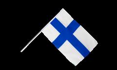 Drapeau Finlande sur hampe - 60 x 90 cm