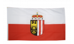 Drapeau Autriche Haute-Autriche