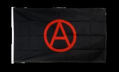 Drapeau Anarchie rouge