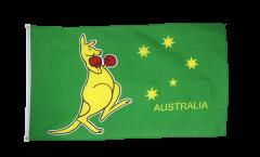 Drapeau Australie Kangourou