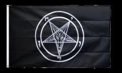 Drapeau Baphomet Église de Satan