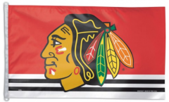 Drapeau NHL Chicago Blackhawks - 90 x 150 cm