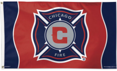 Drapeau MLS Chicago Fire - 90 x 150 cm