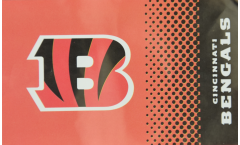 Drapeau NFL Cincinnati Bengals Fan - 90 x 150 cm