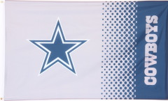 Drapeau NFL Dallas Cowboys Fan - 90 x 150 cm