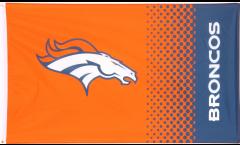 Drapeau NFL Denver Broncos Fan - 90 x 150 cm