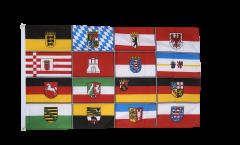 Drapeau Allemagne les 16 Régions