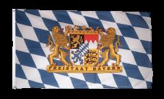 Drapeau Allemagne Bavière Freistaat Bayern