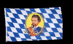 Drapeau Allemagne Bavière Roi Louis