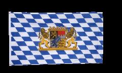 Drapeau Bavière avec Lion