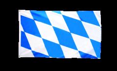 Drapeau Allemagne Bavière sans blason