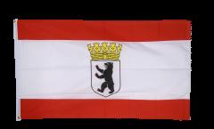 Drapeau Allemagne Berlin Ours avec couronne