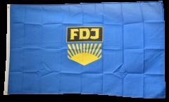 Drapeau Allemagne RDA FDJ Jeunesse libre allemande - 90 x 150 cm
