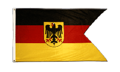 Drapeau Allemagne Dienstflagge der Seestreitkräfte - 90 x 150 cm