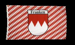 Drapeau Allemagne Franconie quadrillé