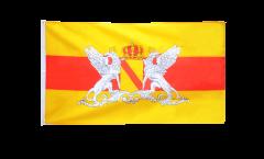 Drapeau Allemagne Grand-Duché de Bade avec Blason