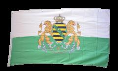 Drapeau Allemagne Royaume de Saxe 1854-1873