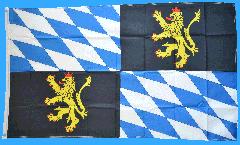 Drapeau Allemagne Palatinat du Rhin Kurpfalz - 90 x 150 cm