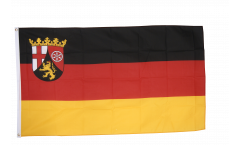 Drapeau Allemagne Rhénanie-Palatinat