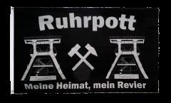 Drapeau Allemagne Ruhrpott Meine Heimat mein Revier
