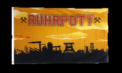 Drapeau Allemagne Ruhrpott Ruhr région 3