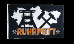 Drapeau Allemagne Ruhrpott Ruhr région 4