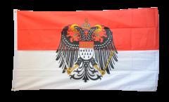 Drapeau Allemagne Cologne avec grand blason