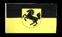 Drapeau Allemagne Stuttgart