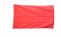 Drapeau Unicolore Rouge