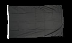 Drapeau Unicolore Noir