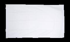 Drapeau Unicolore Blanc