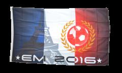 Drapeau Football 2016 Tour Eiffel